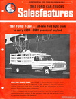 1967 Ford F350 Sales Features brochure