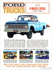 1963 Ford Truck 4WD data sheet