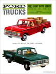 1963 Ford of Canada F100-F350 dealer brochure