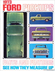 1973 Ford Truck 'Facts and Features' brochure