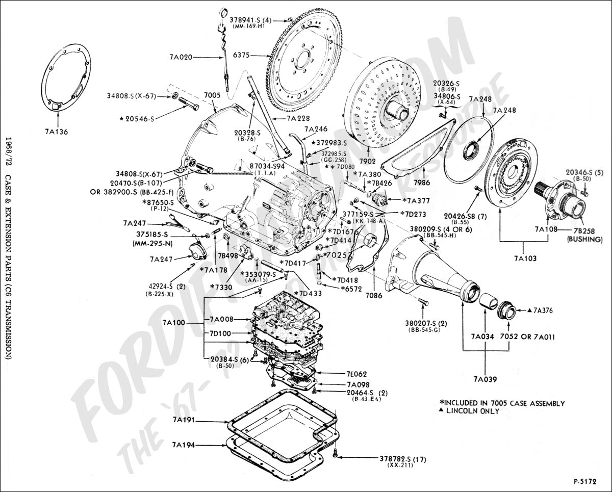 Th400 Transmission Diagram on ford 3 sd manual transmission