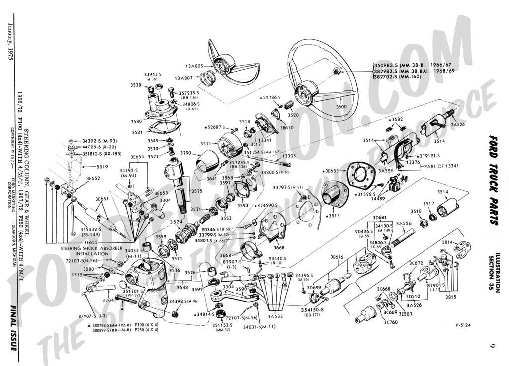 ford truck technical drawings and schematics - section c