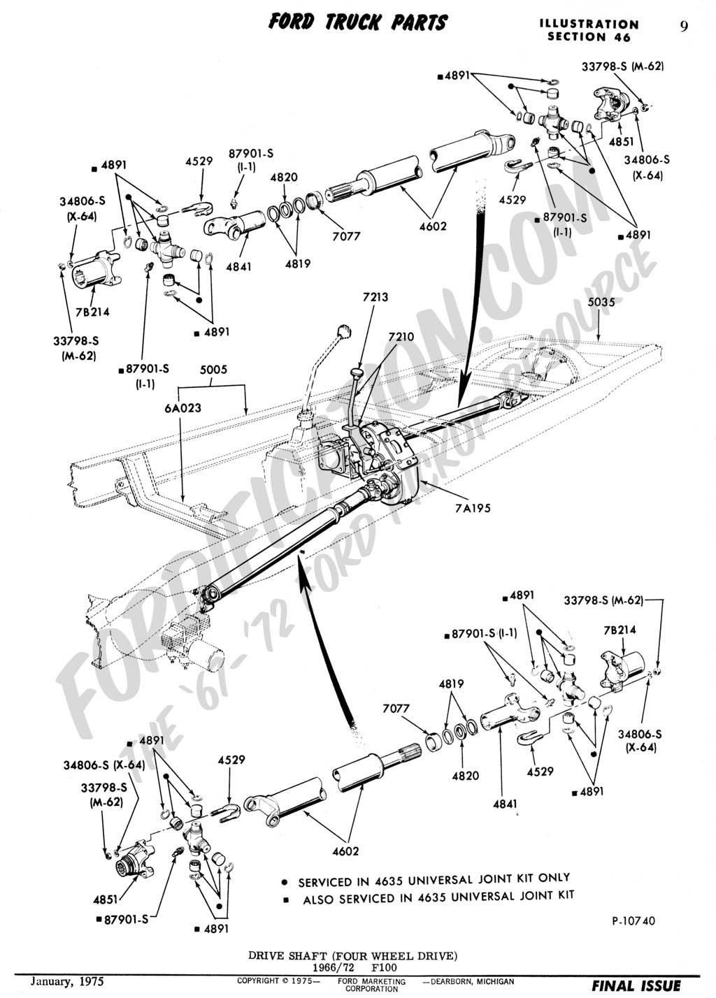 483421 1979 Ford Front Drive Shaft on 2004 f150 4 2 liter diagram