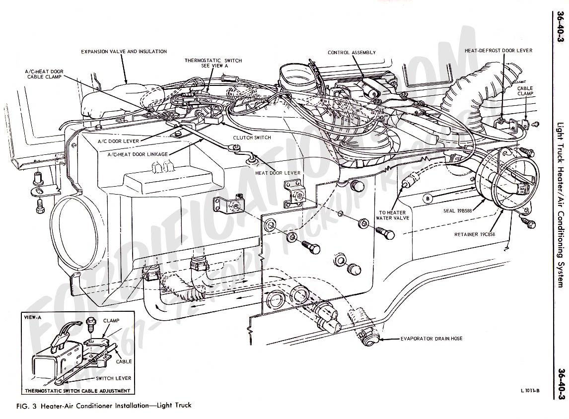 Ford Air Conditioner Diagram on 2001 ford f 150 suspension diagram