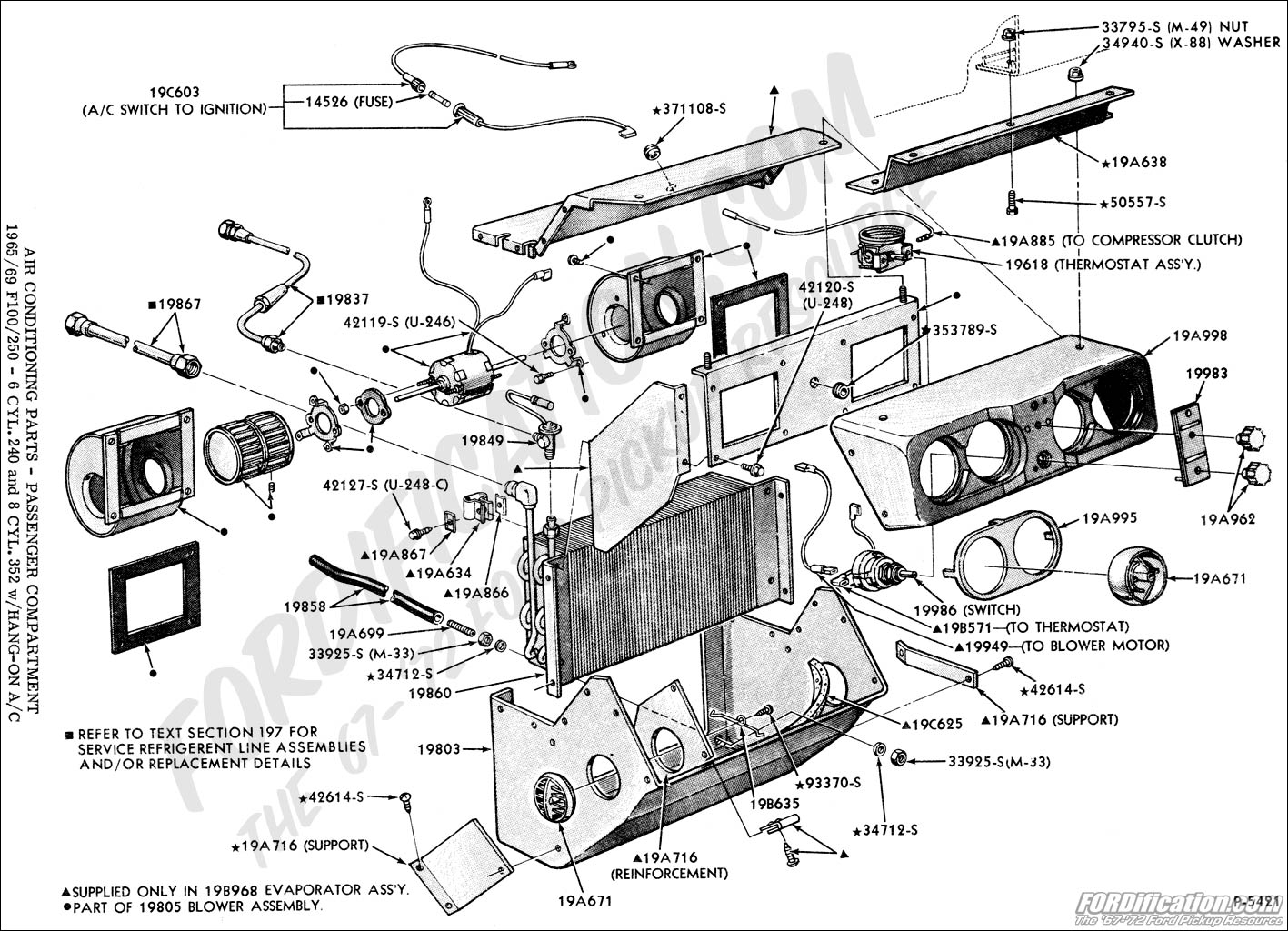 fuse diagram ford f 250 2000 4x4 ford truck technical drawings and schematics - section f ... wiring diagram ford f 250 air conditioning