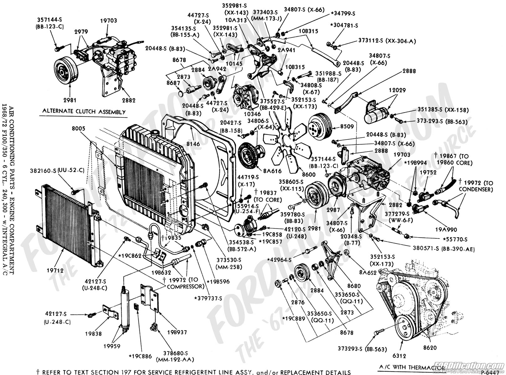 ford truck technical drawings and schematics section f mustang 302 engine diagram