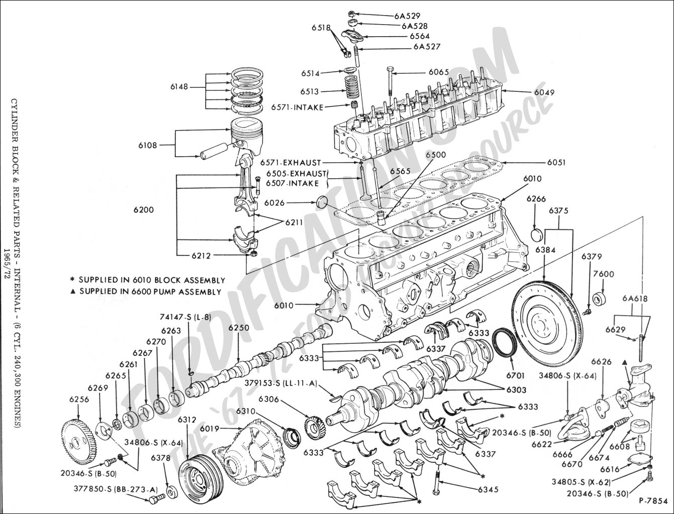 ford truck technical drawings and schematics section e engine and related components Ford Truck Transmission Parts Ford F 250 Parts Diagram