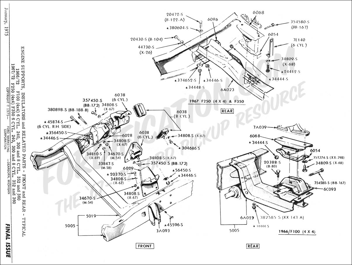 1968 ford bronco engine diagram get free image about