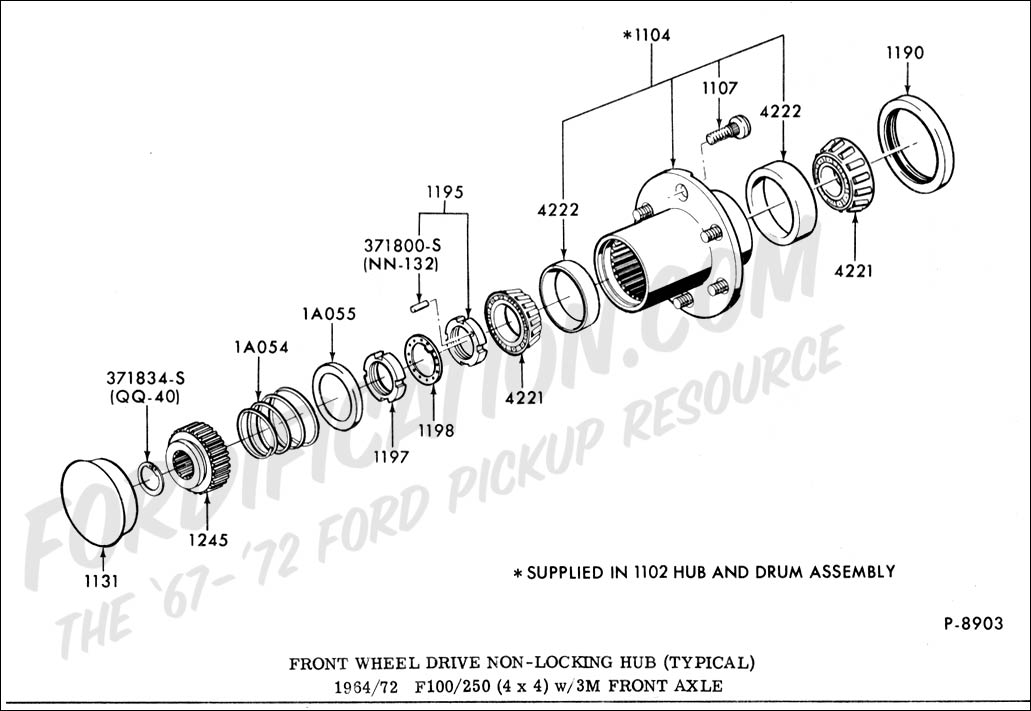 ford f250 front end parts diagram
