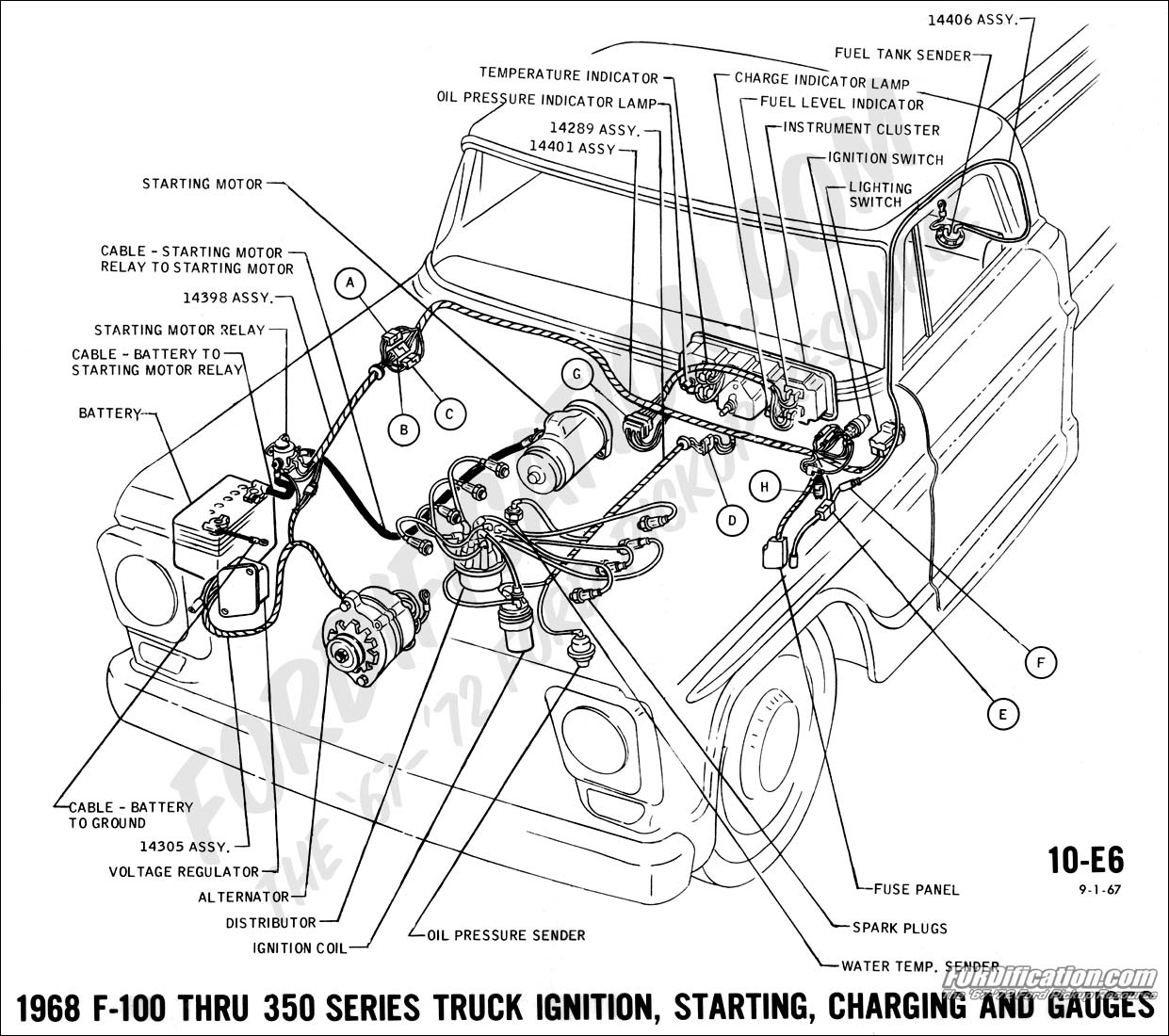 68 ford f100 wiring diagram  68  free engine image for