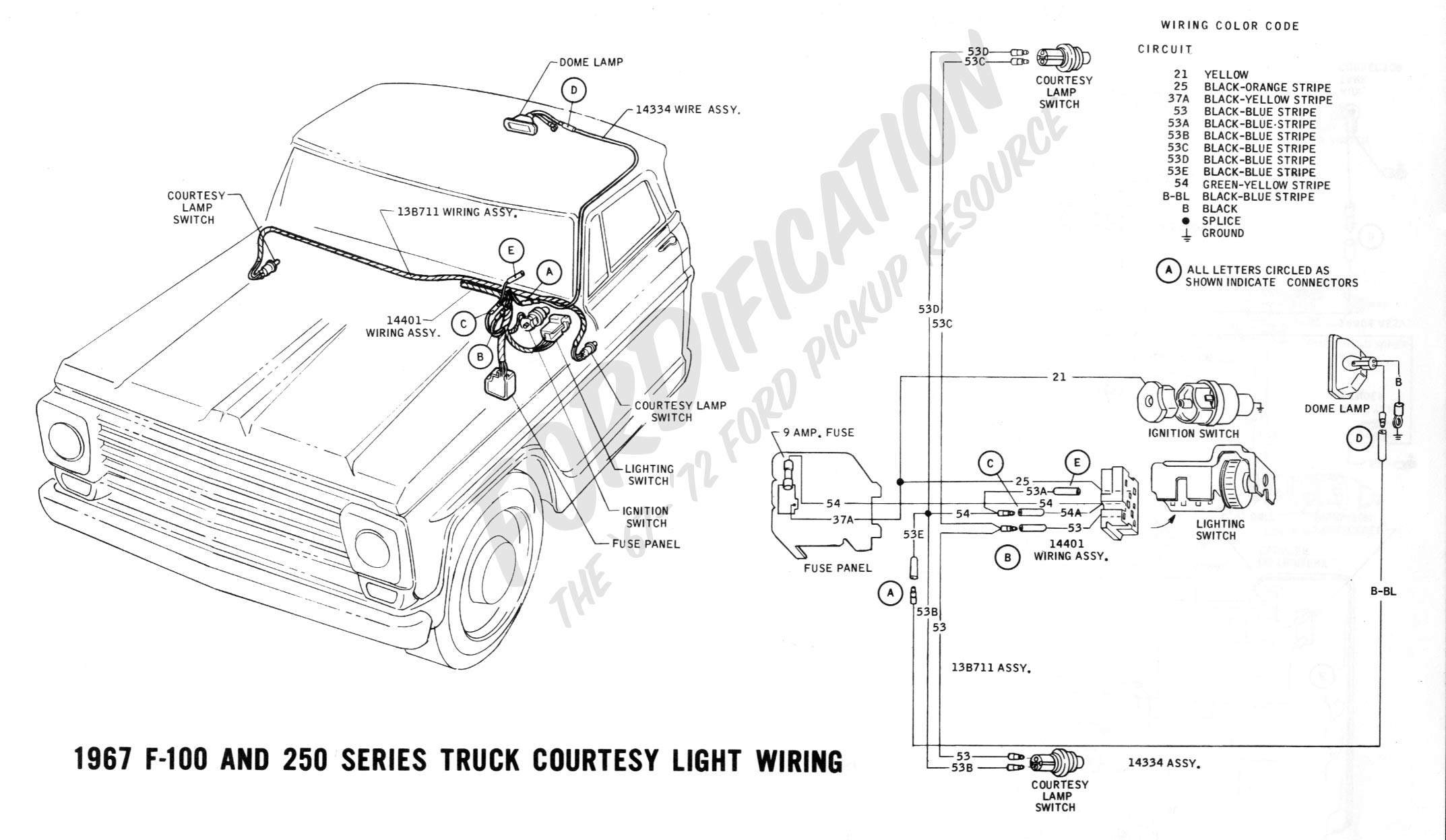 1967 ford f250 wiring diagram 1967 ford mustang wiring diagram manual #5