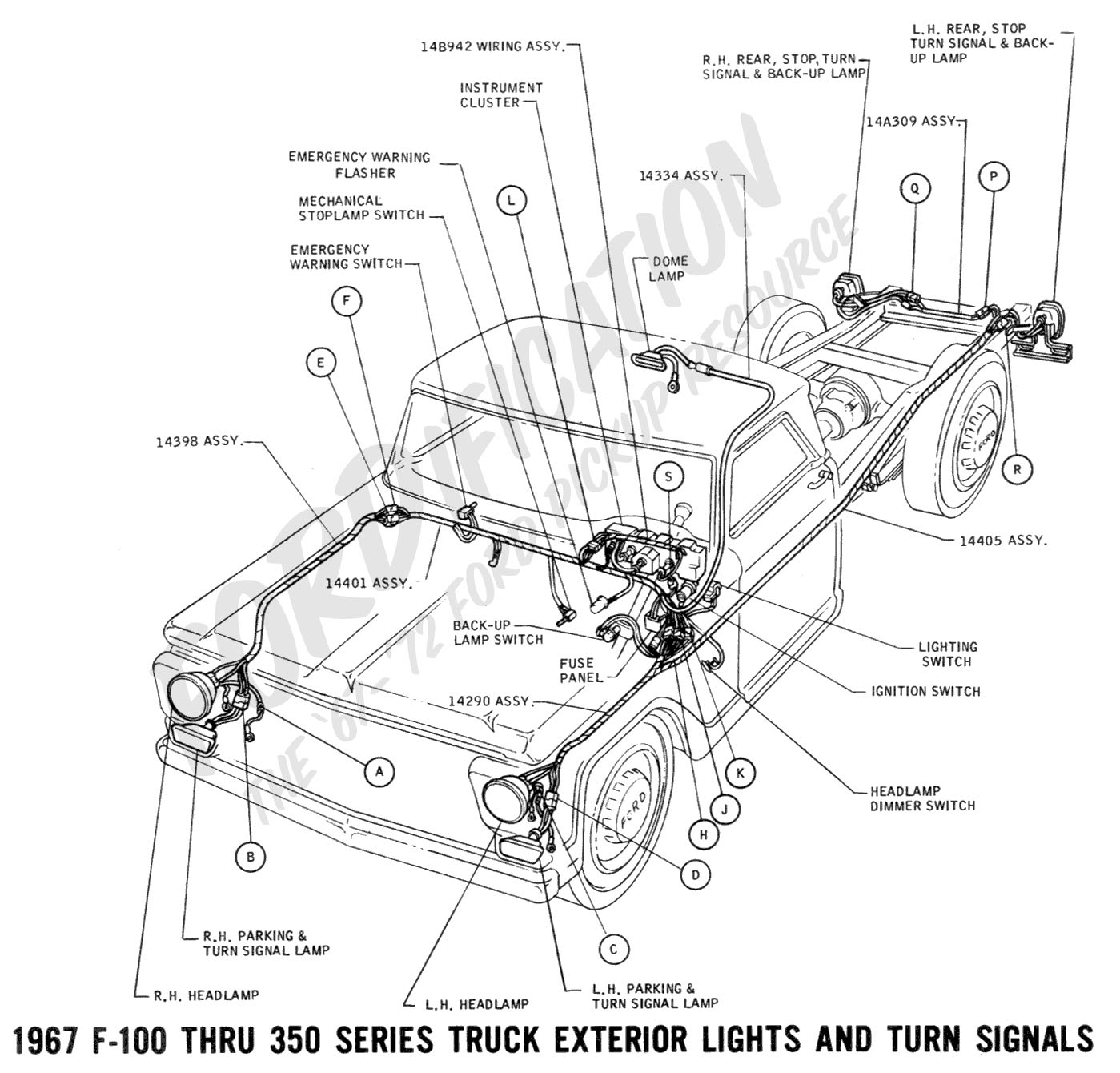 similiar 97 f150 brake lines from reservoir keywords 1996 ford f 150 dual tank fuel system diagram furthermore 6 0