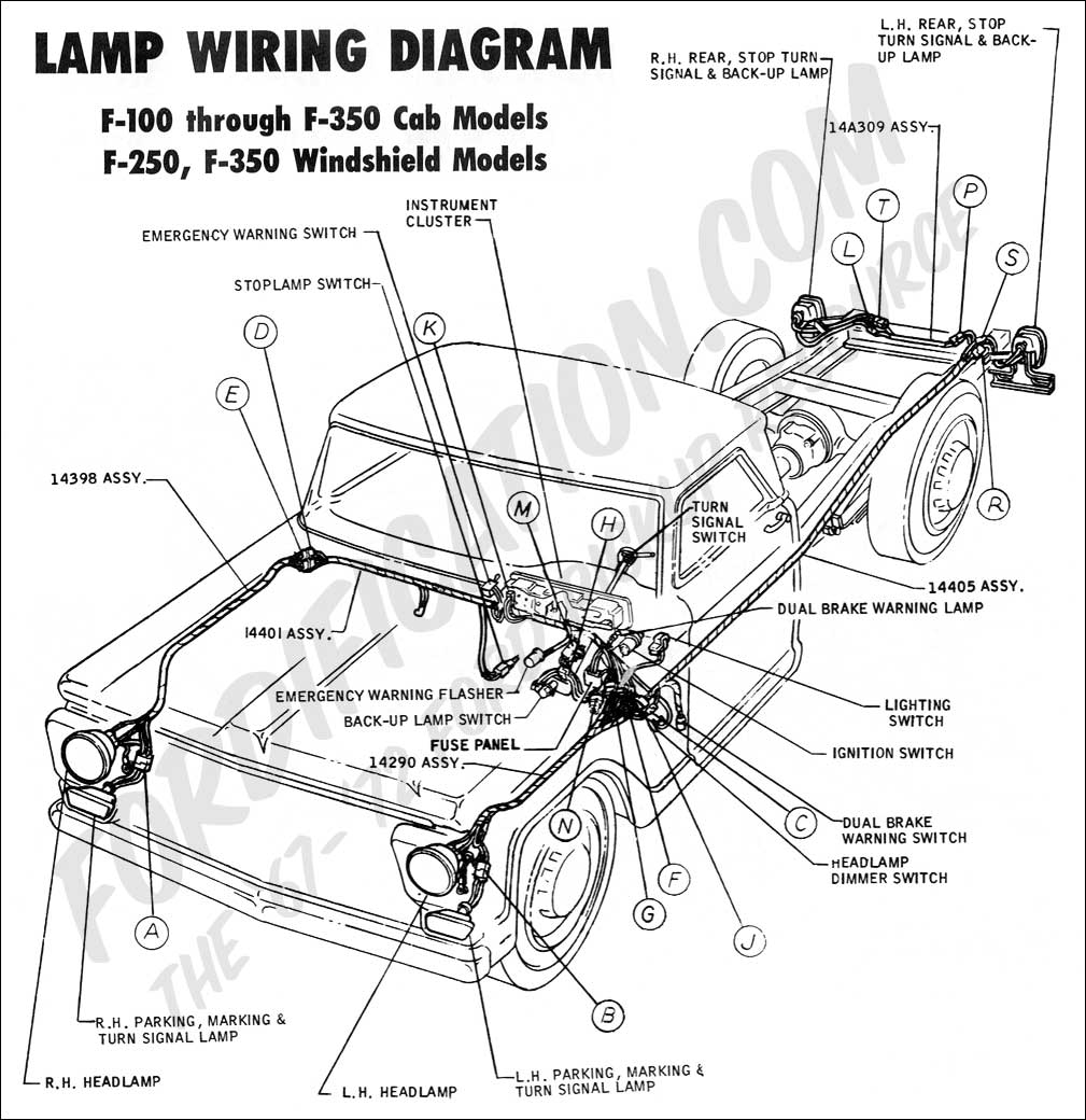 ford truck technical drawings and schematics section h 2007 ford f450 wiring diagram 2000 ford f450 wiring diagram