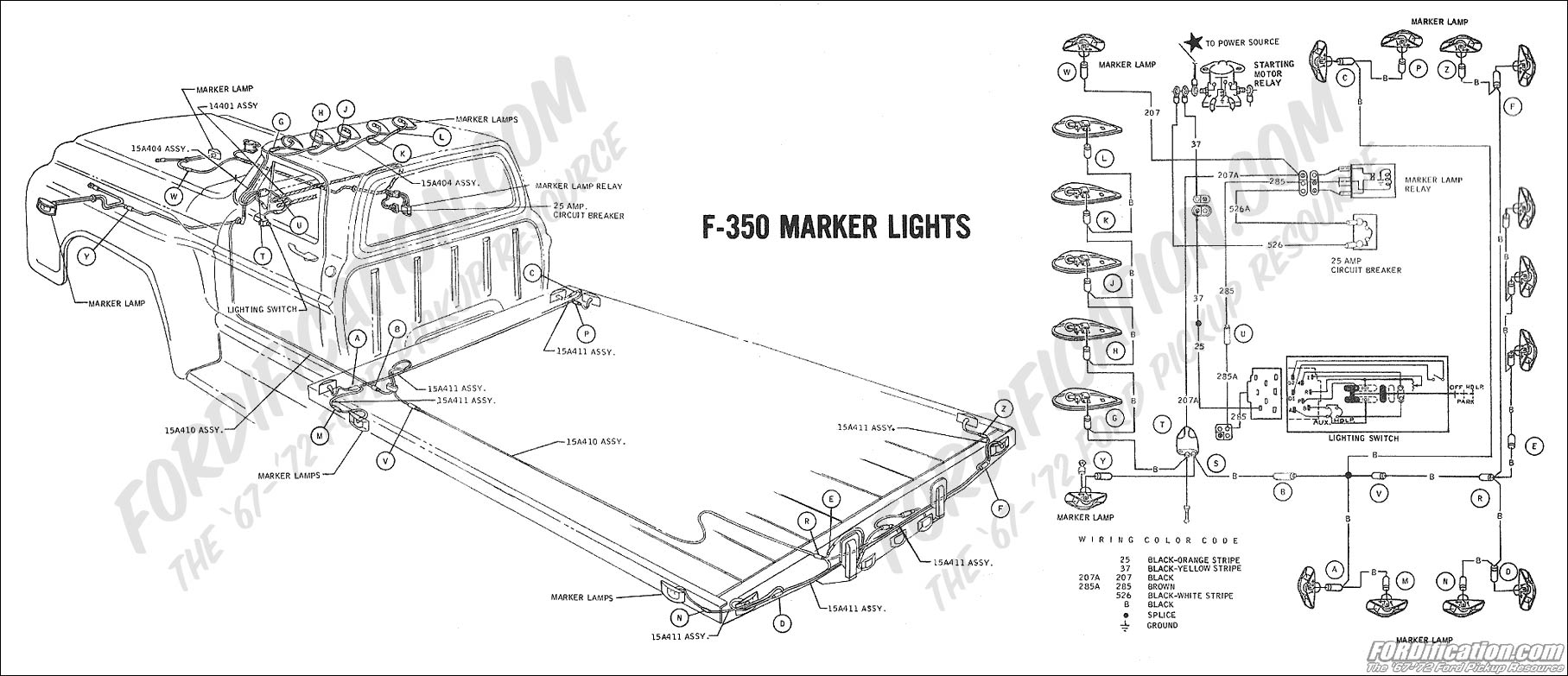 1973 f250 wiring diagram  1973  get free image about