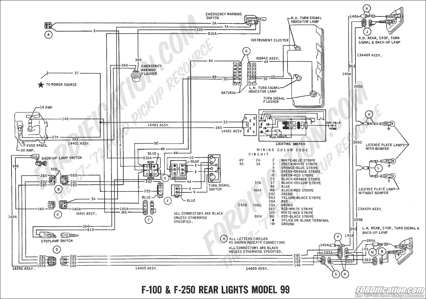 wiring diagram 2000 f350 rear lights  wiring  free engine