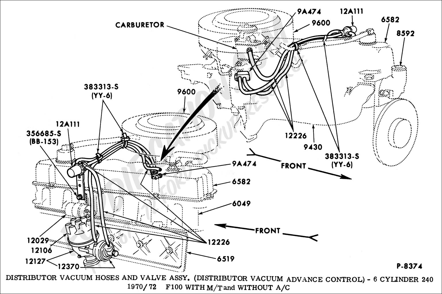 94 Ford 302 Distributor Wiring Diagram Download Diagrams 1994 F150 Engine Mustang Get Free Ignition 1980 F 250 System