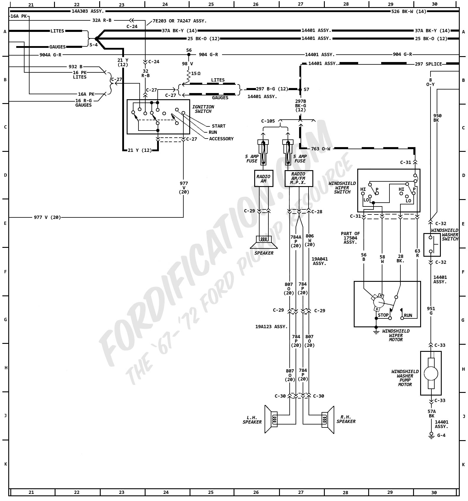1972 Ford F 350 Wiring Diagram Data Schema 1994 Truck Diagrams Fordification Com F250 1996