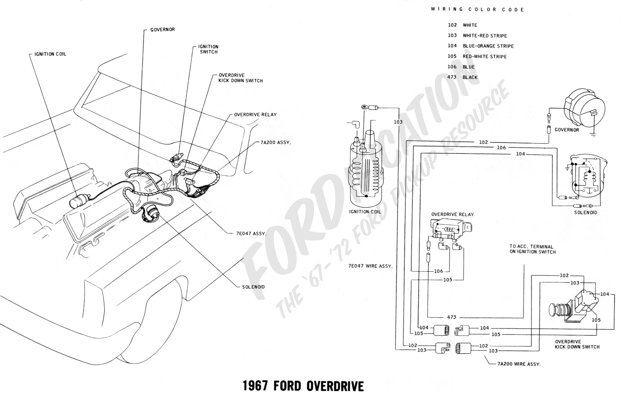 Wiring Harness 1967 Ford Truck 1968 Great Design Of Diagram 1978 Technical Drawings And Schematics Section H F 150