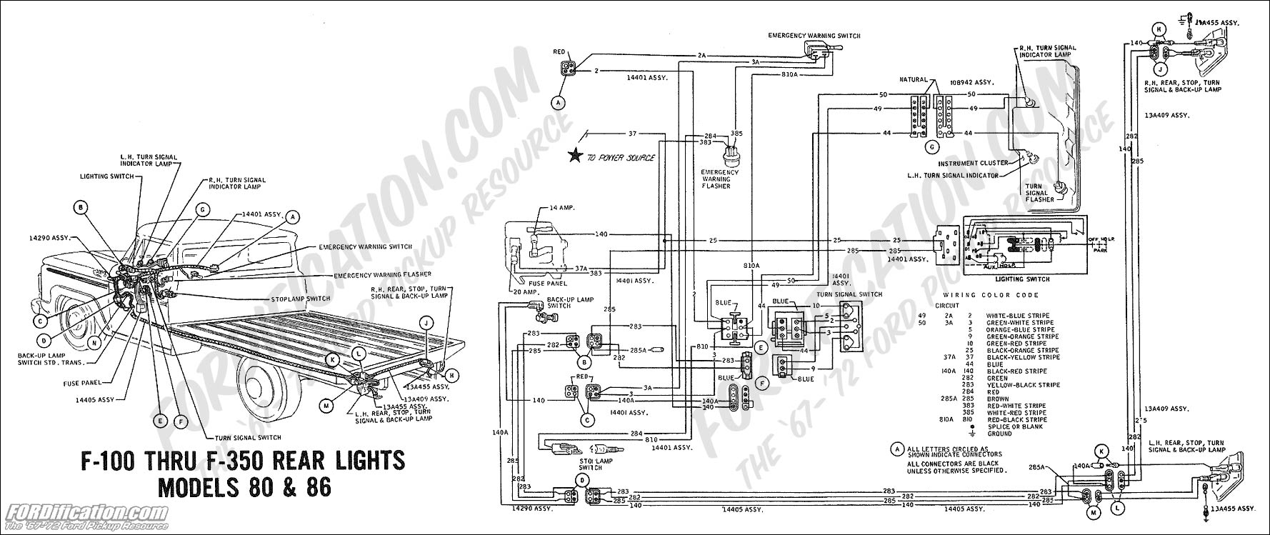 100 Amp Alt Wiring Diagram Ford Motorcraft 1978 F100 Interior Parts